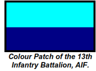 13 Bn Colour Patch