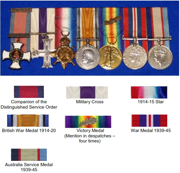 Henry Bachtolds Medals
