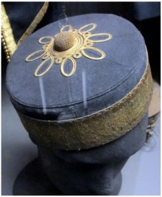 Pillbox cap owned by Henry Green